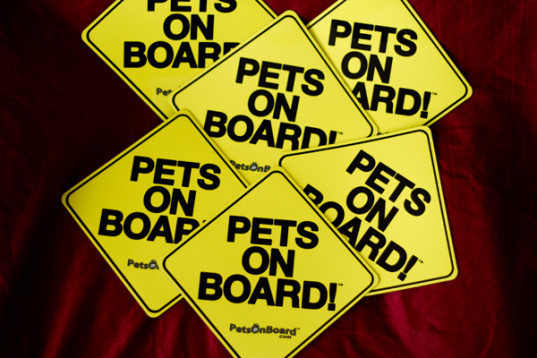Pets On Board Sign™