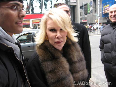 Joan Rivers in NYC-© JADonnelly.com