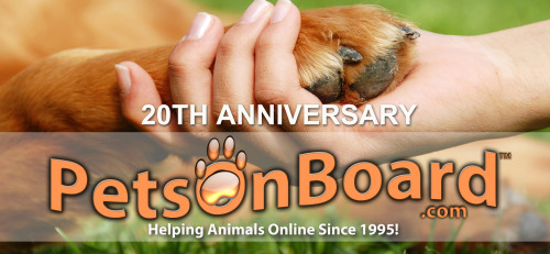 Pets On Board 20th Anniversary