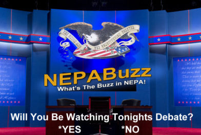 Will You Be Watching Tonights Debate? – NEPABuzz.com